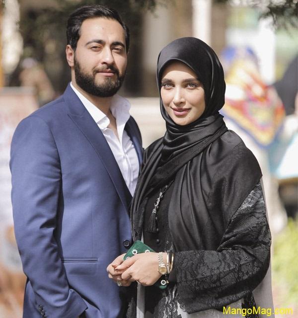 آناشید-حسینی-و-همسرش