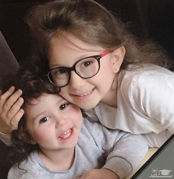 زندگلی لاکچری دختران شاهرخ استخری در بلژیک