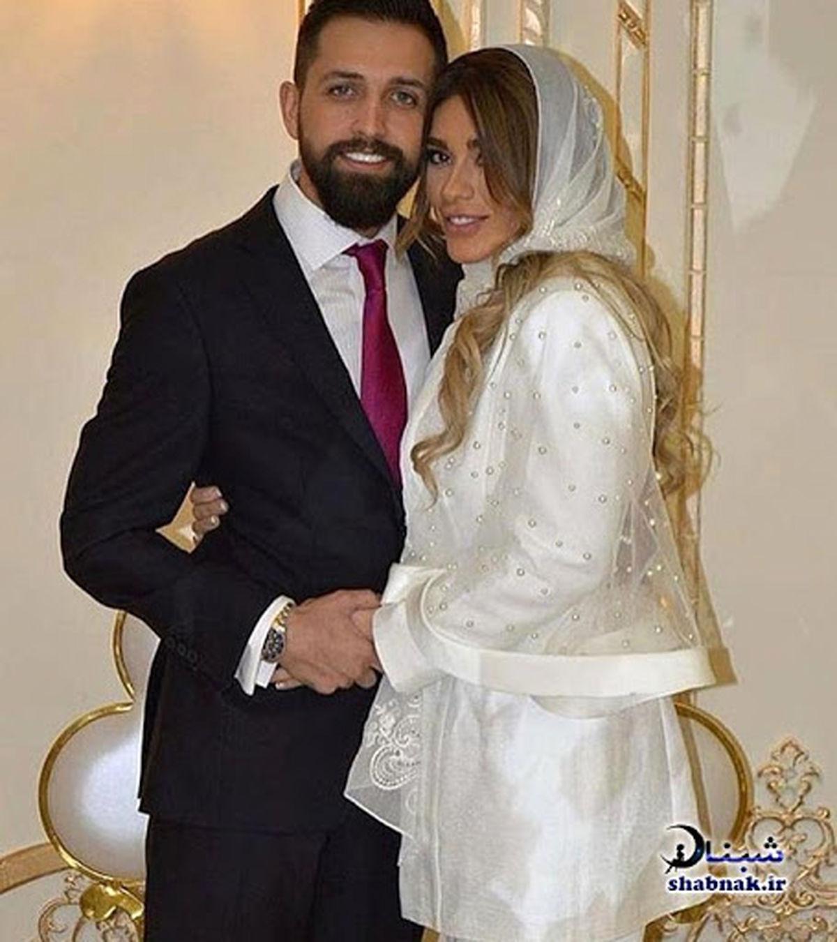 رقص منشوری همسر محسن افشانی