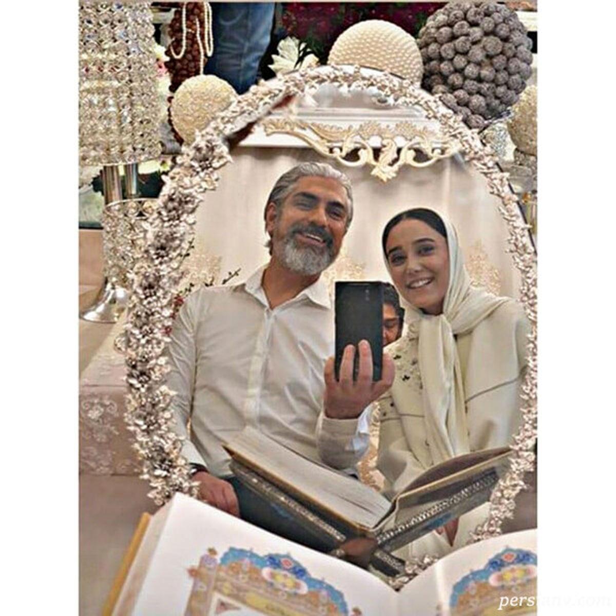 مهدی پاکدل از همسر دوم و جوانش رونمایی کرد + عکس