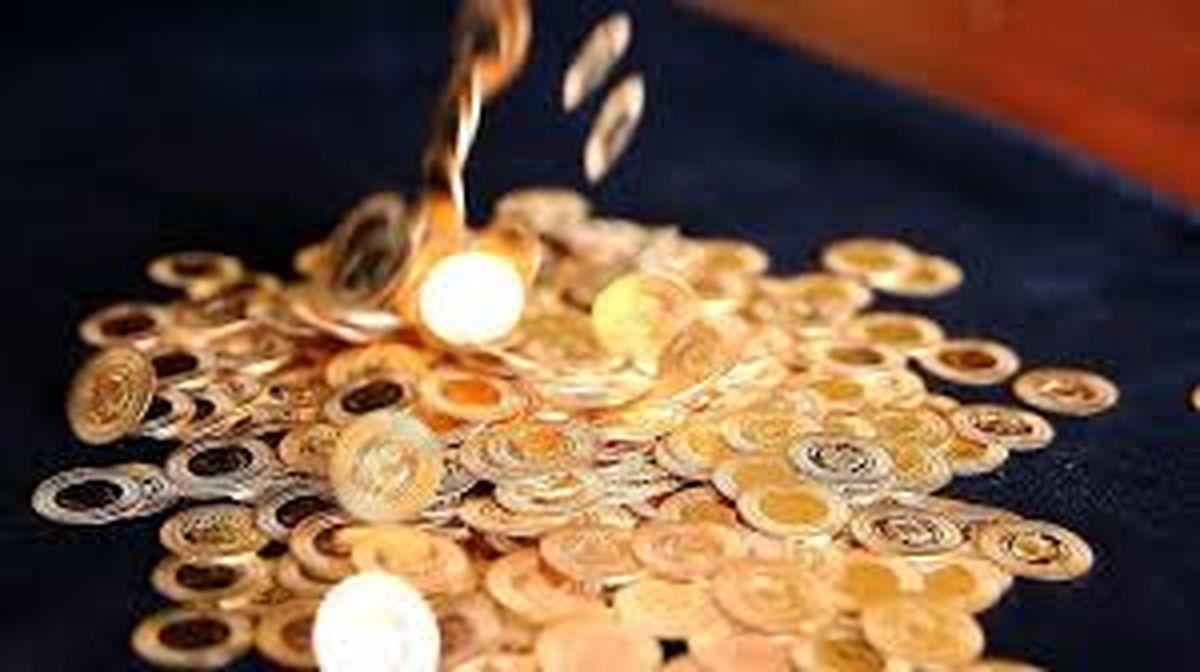سکه 700 هزار تومان ارزان شد   سه شنبه 6 آبان