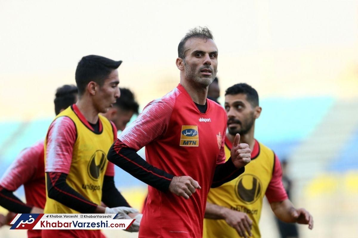 کاپیتان پرسپولیس از دنیای فوتبال خداحافظی می کند ؟