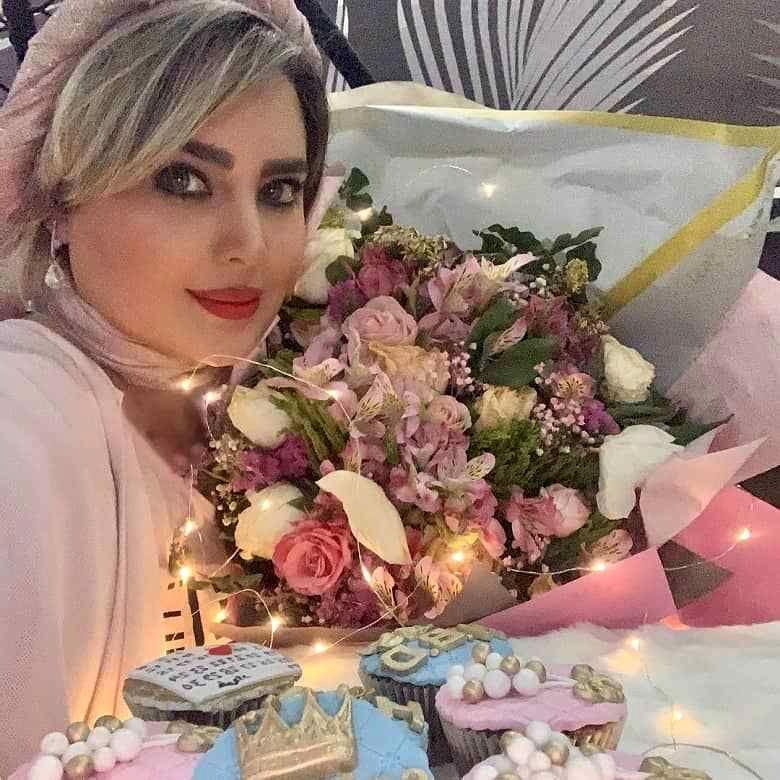 جشن تولد خواهر علی صادقی + عکس