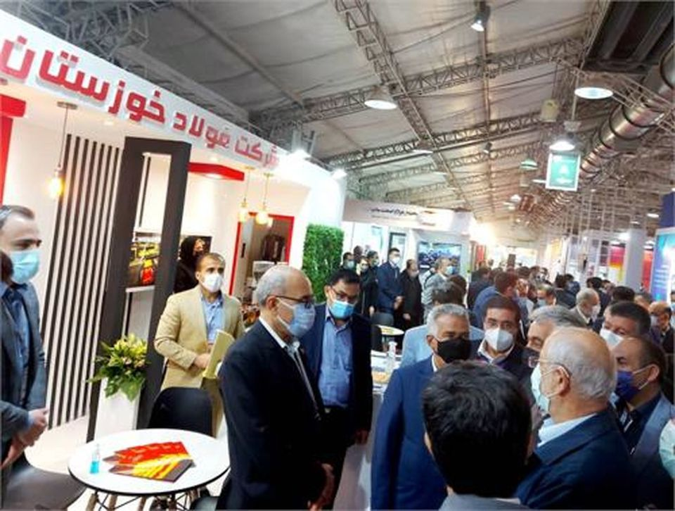 یازدهمین همایش و نمایشگاه چشم انداز صنعت فولاد و سنگ آهن ایران آغاز به کار کرد