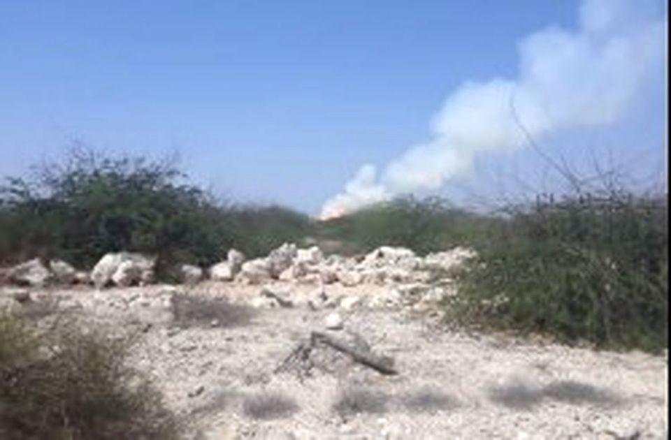 جریان شعله های گاز در جنوب غربی جزیره کیش چیست؟