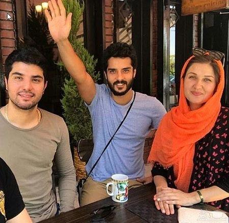 سینا مهراد و برادرو همسر برادرش
