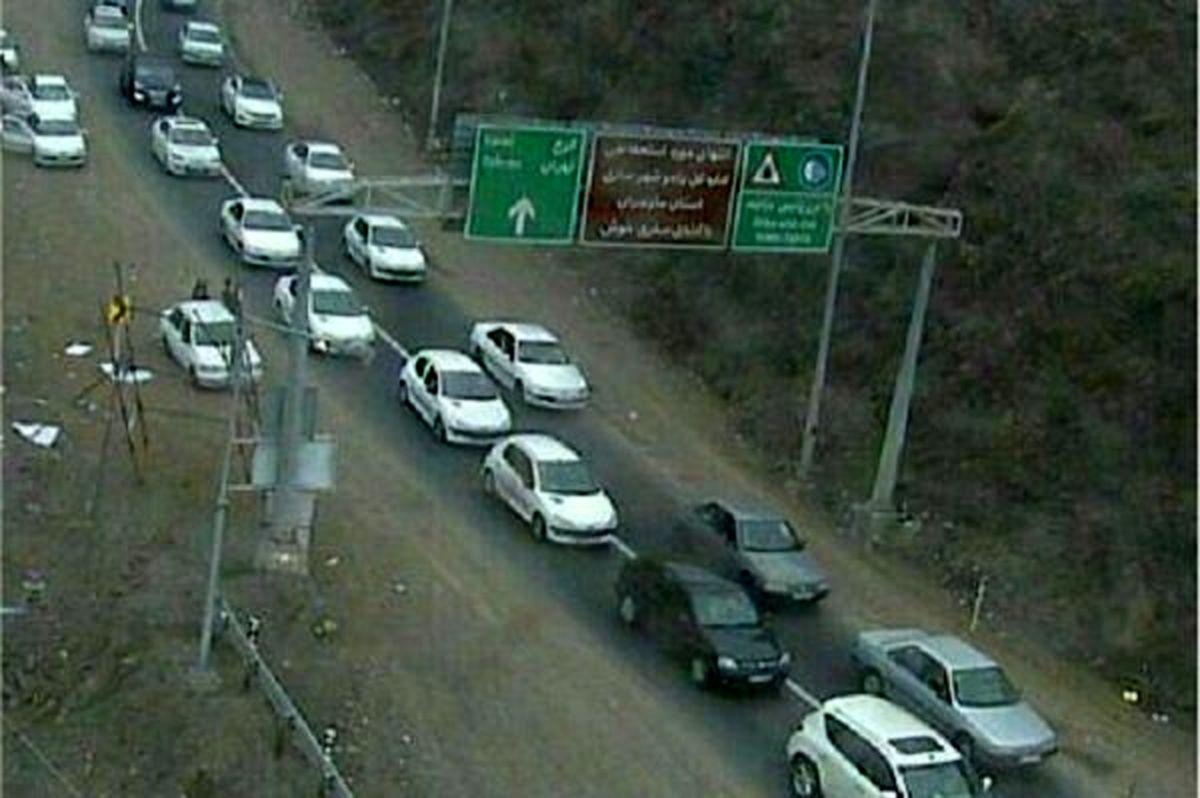 آخرین وضعیت محور های مواصلاتی چهارشنبه 9 بهمن + عکس