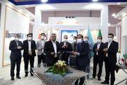 امضای قرارداد ساخت محور لوکوموتیو بین مپنا و مجتمع اسفراین