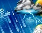 آخرین وضعیت آب و هوایی کشور جمعه 20 دی  + جدول