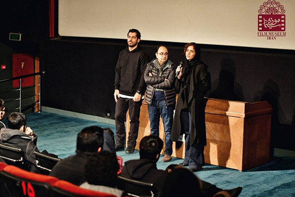 پریناز ایزدیار در موزه سینما
