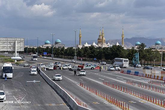 قرنطینه | راه های تهران بسته شد + تصاویر