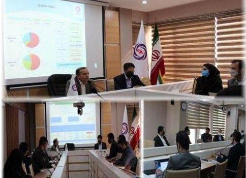 چهارمین جلسه بررسی عملکرد شعب و تشریح برنامه های سال جاری در بیمه آرمان برگزار شد