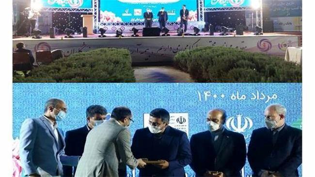 مراسم تجلیل از جواد فروغی قهرمان المپیک توکیو 2020 و رئیس فدراسیون تیر اندازی