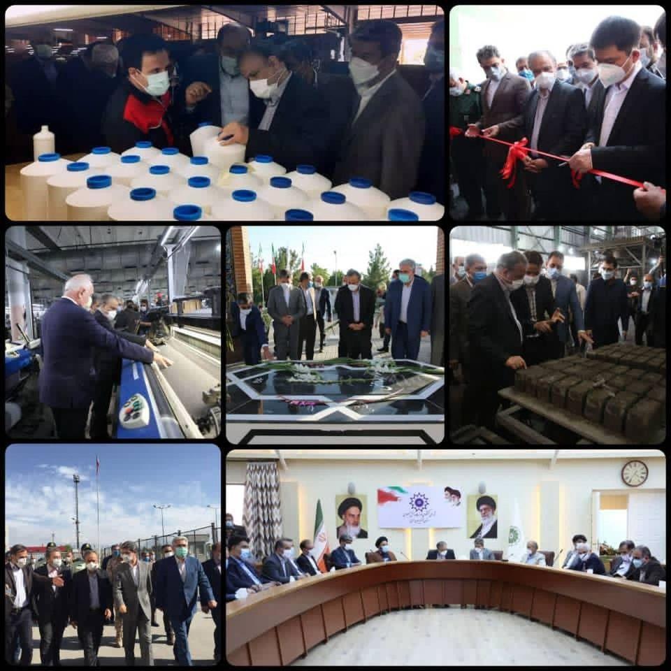 اقدامات وزیر صمت در سومین روز سفر کاری خود به استان آذربایجان غربی
