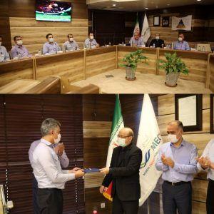 مراسم تقدیر از آتش نشانان و کارکنان ایمنی در مبین انرژی خلیج فارس برگزار شد