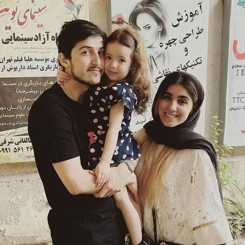 عکس جدید سردار آزمون و نامزدش + عکس