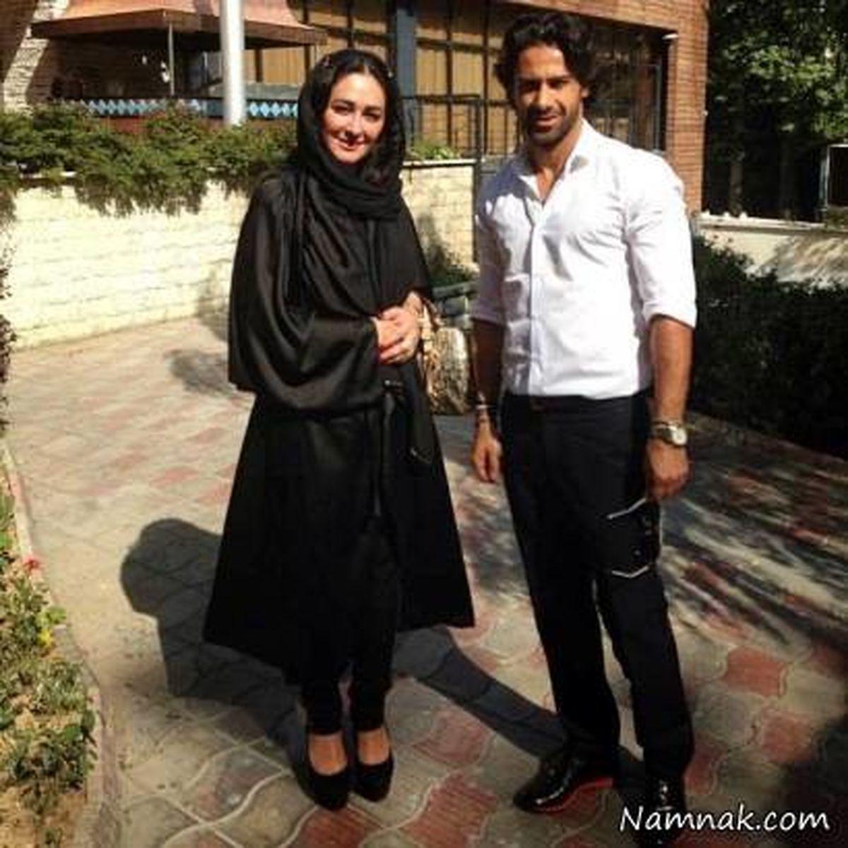 عکس لورفته از فرهاد مجیدی و همسران + عکس خصوصی