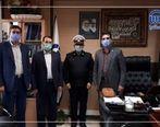 تقدیر پلیس راهنمایی و رانندگی آذربایجان غربی از بیمه آسیا
