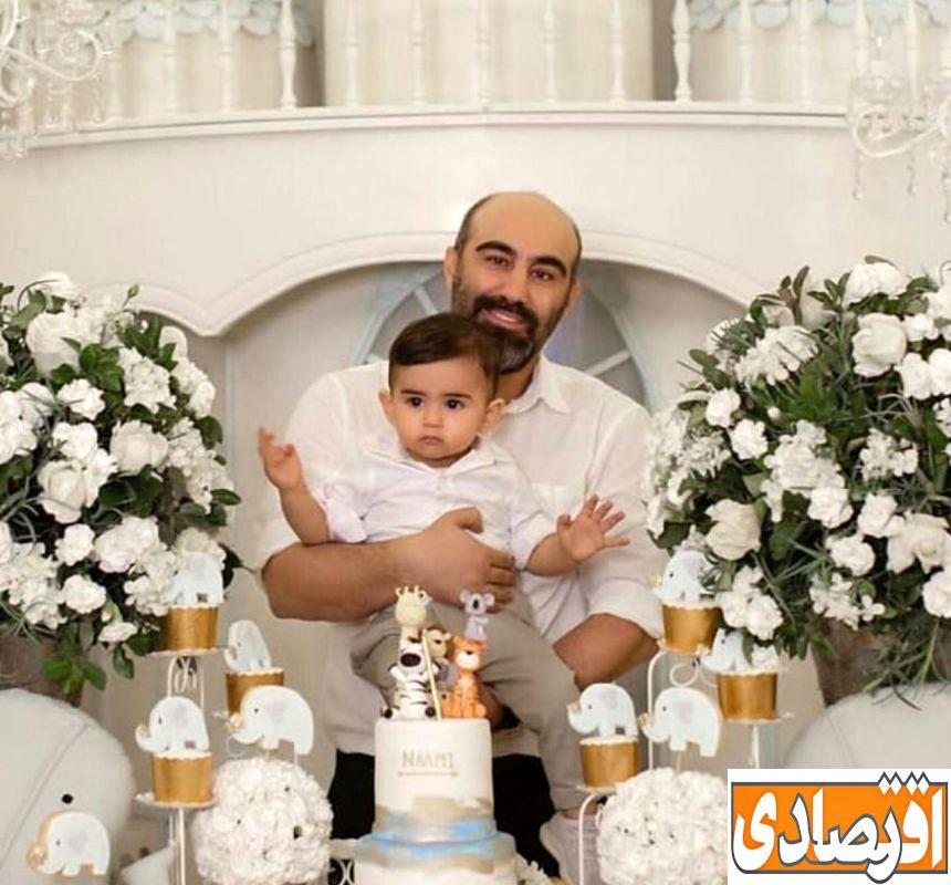 عکس های لورفته و جنجالی از جشن تولد لاکچری و خصوصی پسر محسن تنابنده + تصاویر