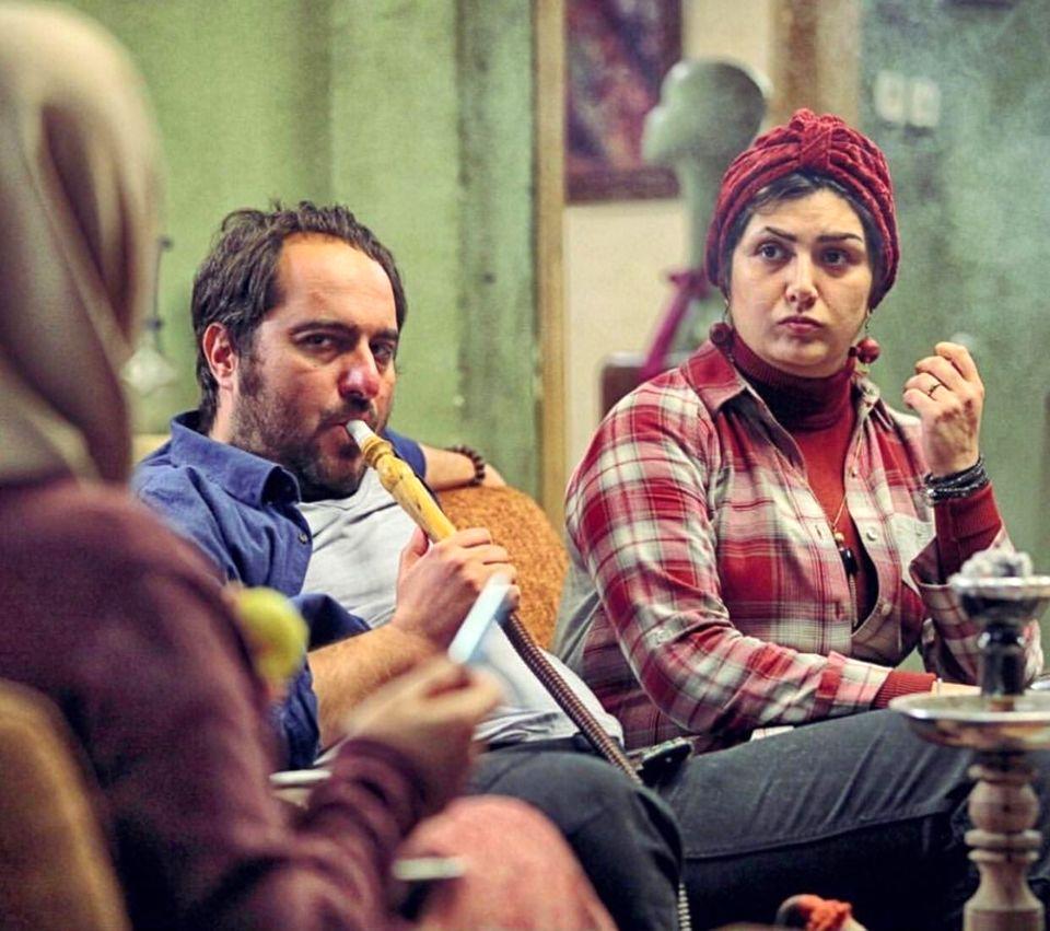 محسن کیایی به همراه دختر زیبا در ویلای لاکچری اش + عکس