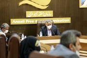 گفتگوی صمیمی دهیاران و اعضای شوراهای اسلامی روستاهای منطقه با سرپرست سازمان منطقه آزاد انزلی