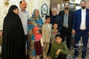 عاشقانه های زینب سلیمانی دختر سردار سلیمانی و همسرش غوغا به پا کرد + عکس