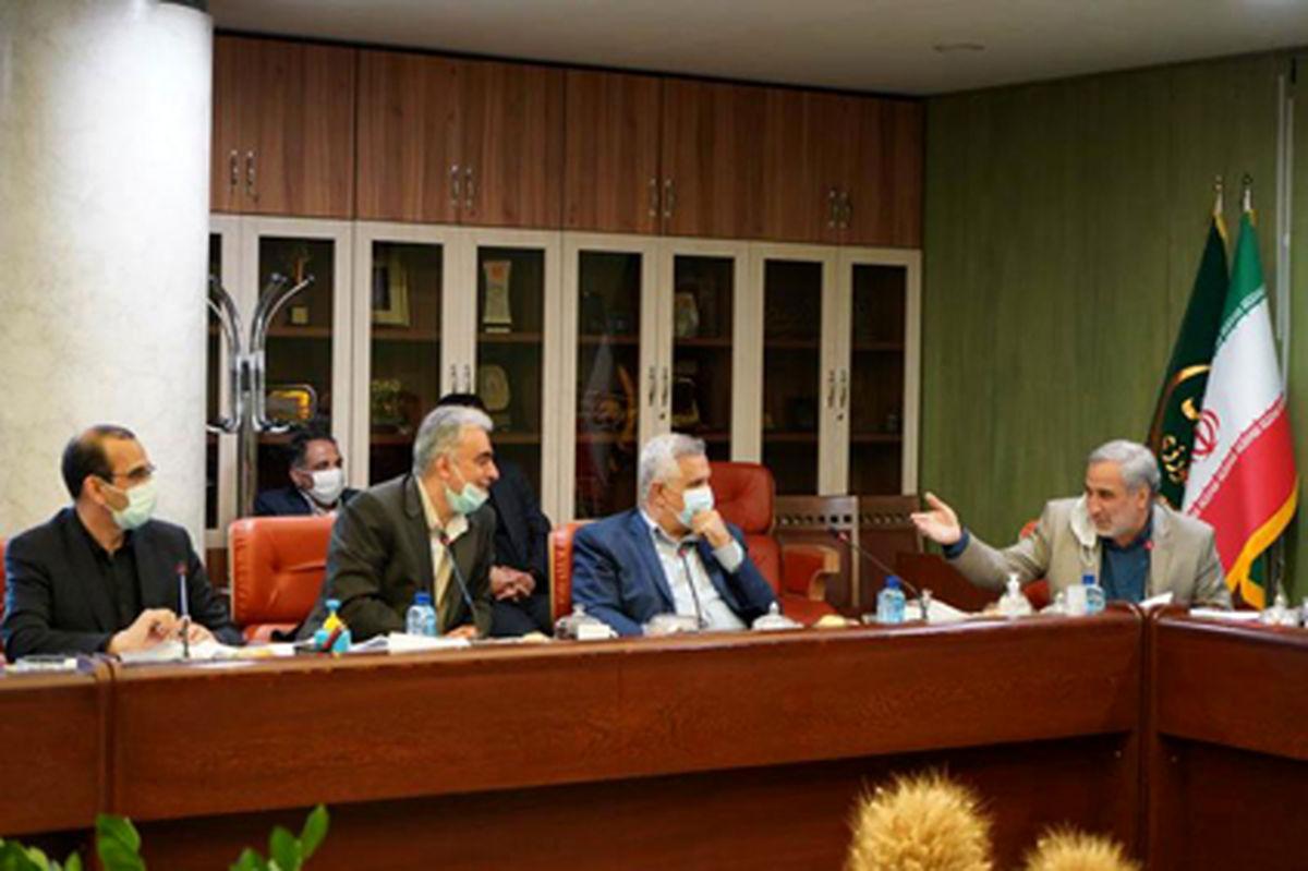 دیدار دکتر سعدمحمدی با وزیر جهاد کشاورزی و سرپرست وزارت صمت