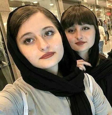 همسران خارجی سارا و نیکا در خارج از کشور لو رفت + عکس