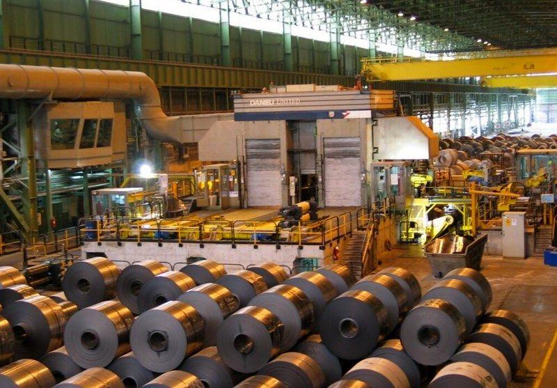 رکورد تولید واحد نورد دوقفسهای فولاد مبارکه شکسته شد