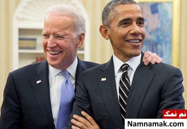 جو بایدن و باراک اوباما