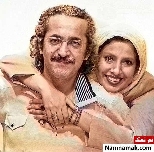 آیدا کیخایی و همسرش محمد یعقوبی