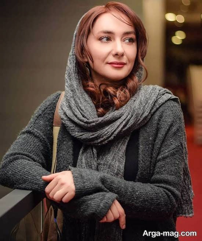 پست جدید هانیه توسلی با ارایش غلیظ و موی فر + عکس خصوصی
