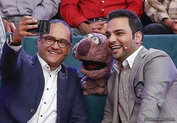 رامبد جوان و احسان علیخانی به همراه جناب خان