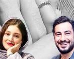 عاشقانه های نوید محمدزاده و فرشته حسینی بعداز ازدواج + عکس