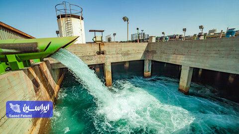 مصرف آب فولاد مبارکه از استانداردهای جهانی کمتر است