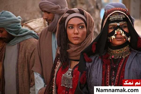 روناک یونسی در فیلم عقاب صحرا