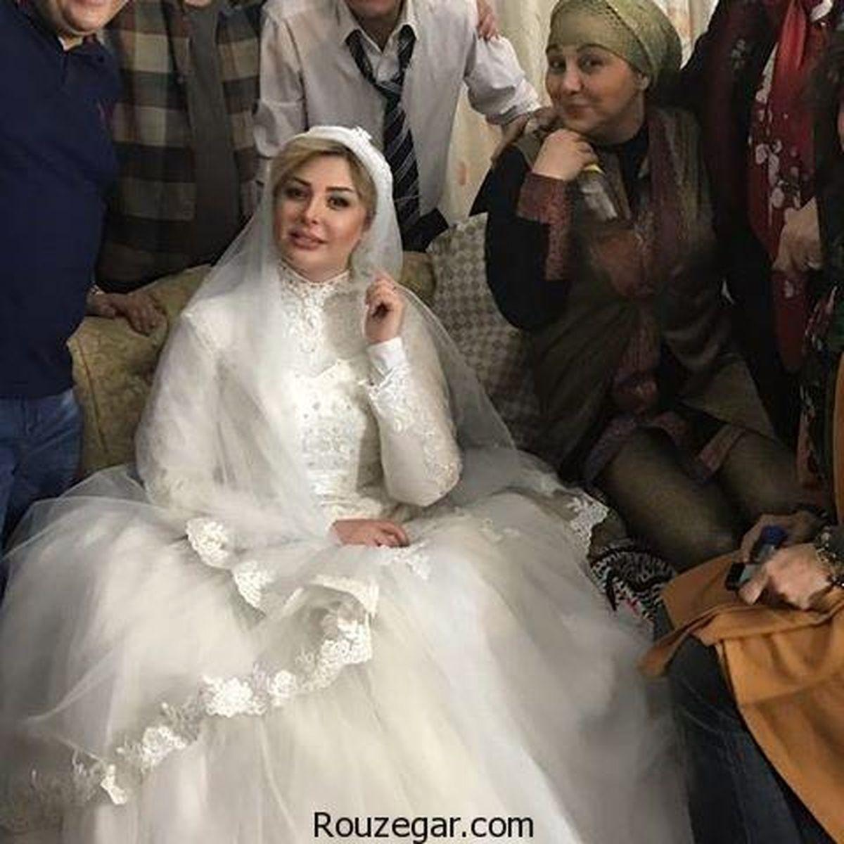 عکس های مراسم ازدواج نیوشا ضیغمی و همسرش لورفت + تصاویر دیده نشده