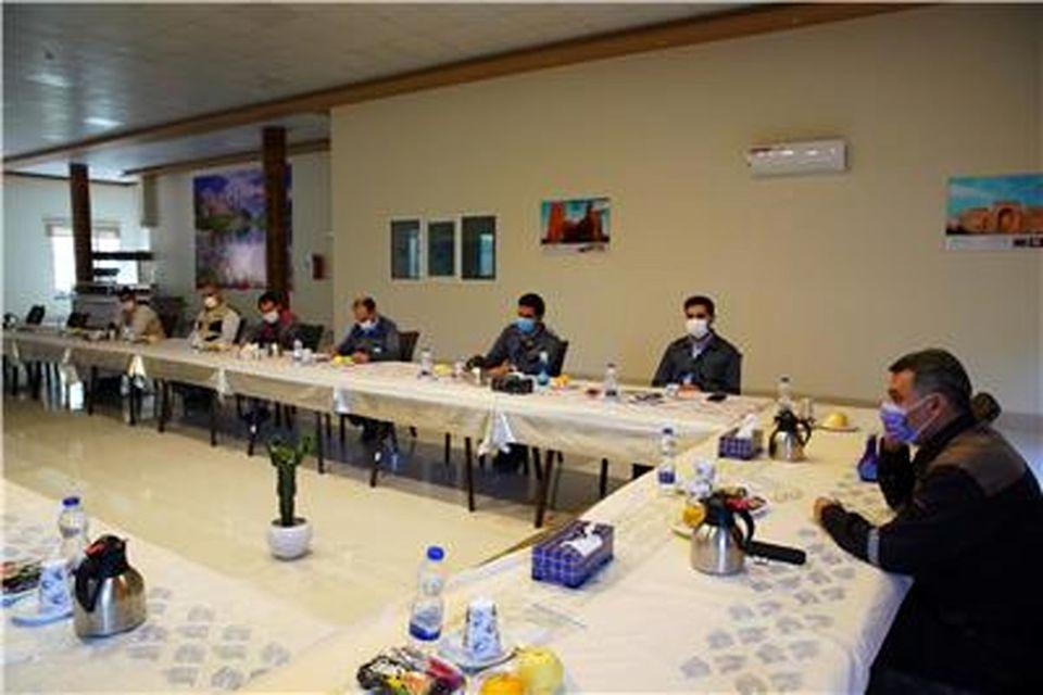 جلسه پیگیری اقدامات محیط زیستی شرکتهای سرمایه گذار در منطقه سنگان برگزار شد