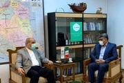دیدار نوروزی سرپرست سازمان منطقه آزاد انزلی با مشاور رییس جمهور