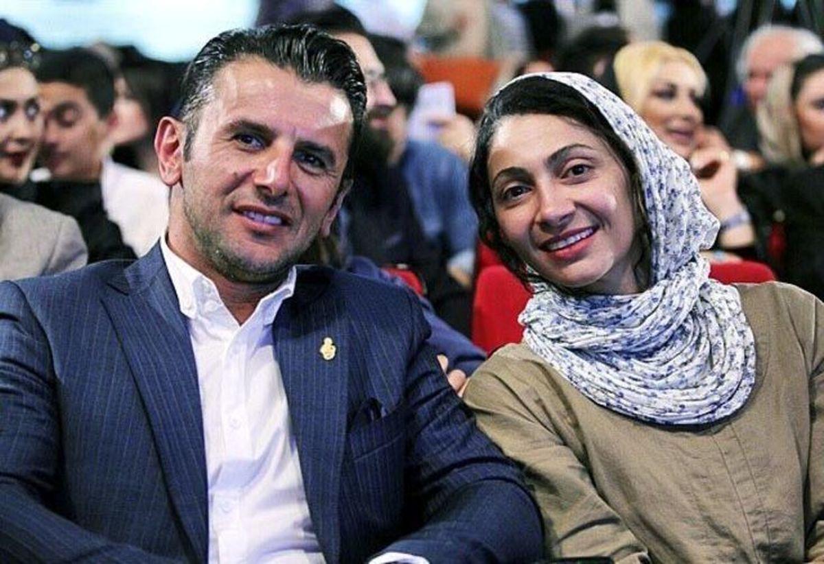 جدایی امین حیایی از همسردومش فاش شد + فیلم دیده نشده