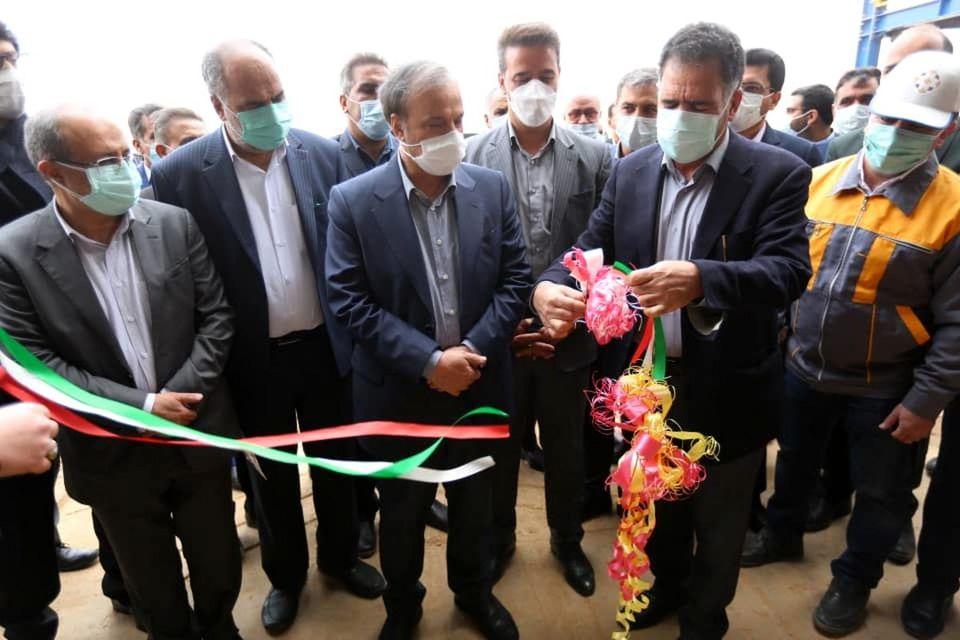 بهره برداری و بازدید از معدن تاجکوه بافق با حضور وزیر صمت