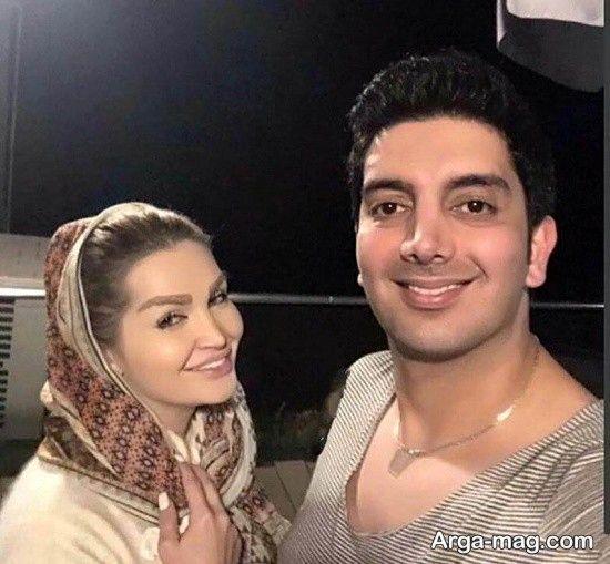عاشقانه های فرزاد فرزین و همسرش + بیوگرافی و تصاویر