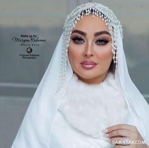 عکس های لو رفته الهام حمیدی در شب عروسی مجدد