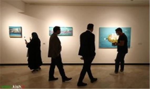برگزاری دومین کارگاه هنری بوم در بوم در کیش
