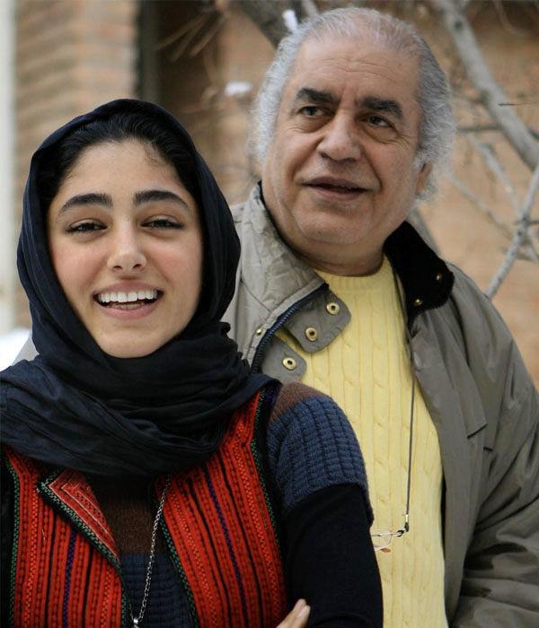 گلشیفته فراهانی و پدرش بهزاد فراهانی + بیوگرافی