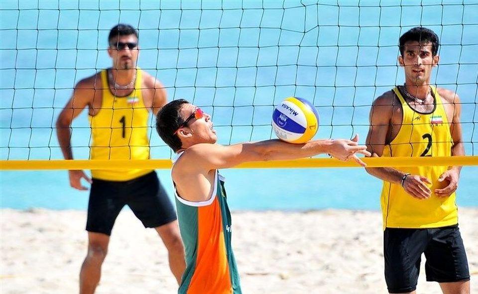 قهرمانان والیبال ساحلی آسیا از کیش به المپیک میروند