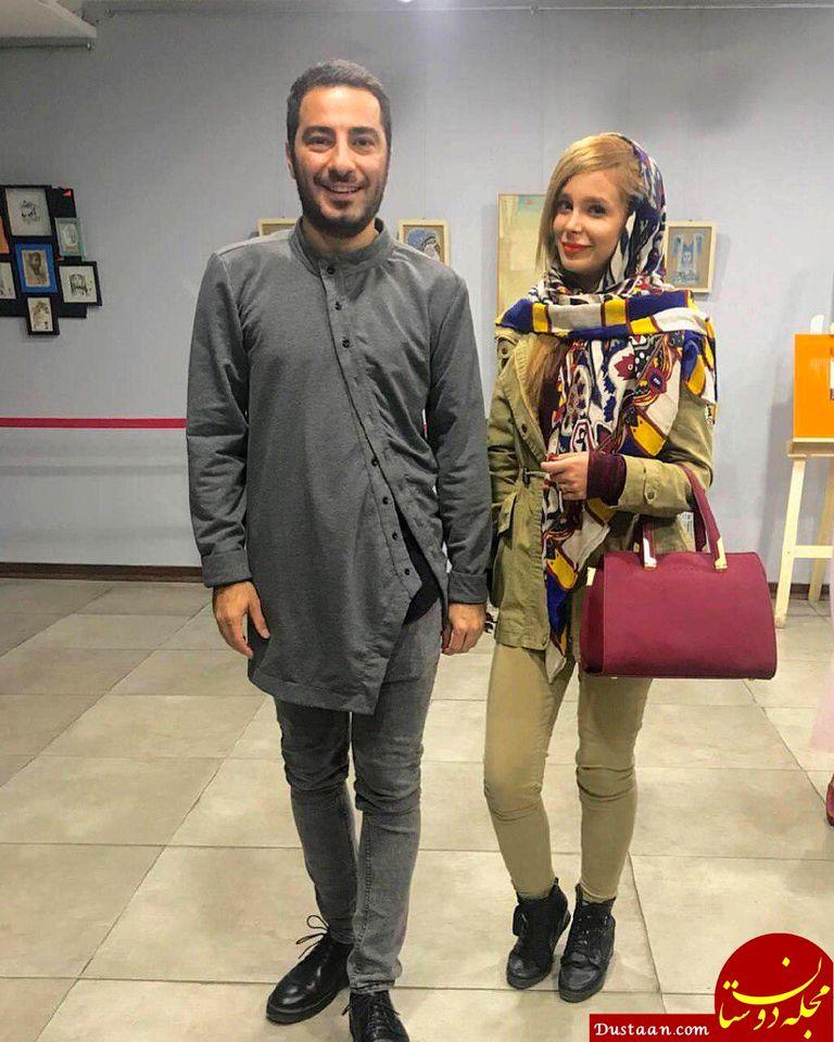 اختلاف سنی فاحش نوید محمدزاده و فرشته حسینی لو رفت + عکس