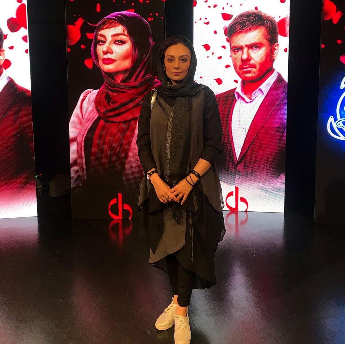 مدل موی جدید یکتا ناصر معروف شد + عکس بد حجاب