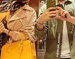ماسک ست شاهرخ استخری و همسرش + عکس لورفته