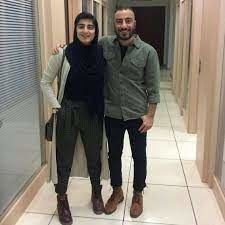 برادر نوید محمدزاده از همسر نوید محمدزاده رونمایی کرد + عکس